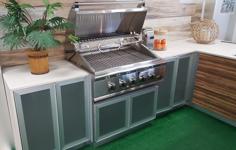 outdoor grill cabinets